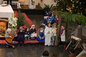 Kindermette in Neufeld, 24.12.2014