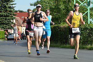Triathlon in Neufeld - Sprint, 08.06.2013