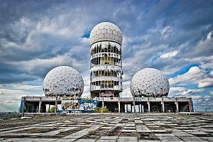 Projekt: Abhörstation Teufelsberg, September 2015